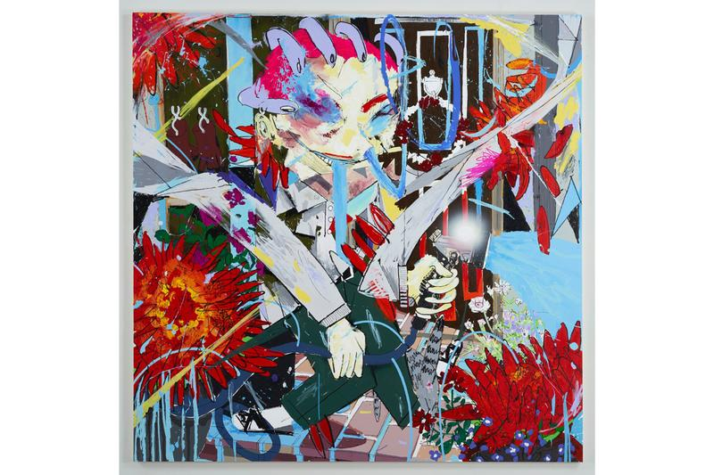 Masato Mori NANZUKA Exhibition Art Basel Miami Beach 2019 Paintings Sculptures Nova Sector Manga Video Games Comic Books