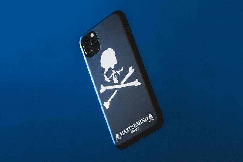 mastermind WORLD iPhone 11 Pro Max Case logo emblazoned tri camera apple design skull and crossbones masaaki Homma japanese lifestyle protective shell logo graphic tim cook