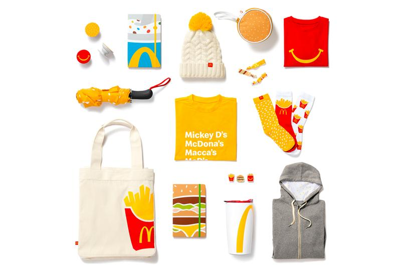 McDonald's Golden Arches Unlimited Merchandise Shop Launch Holiday Items Release Info Date Buy