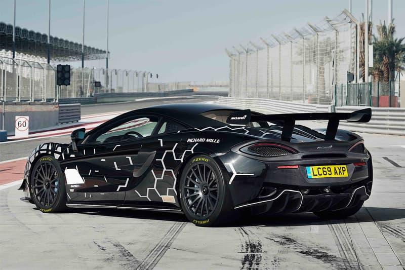 mclaren racing track road legal 620r 610 horsepower 570S GT4