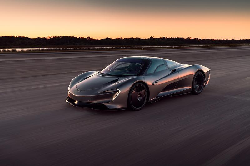 McLaren Speedtail Hits 250 MPH in Kennedy Space Center Tests Johnny Bohmer Proving Grounds McLaren F1 Supercar Hypercar Hybrid Powertrain Limited Edition Special Speeds