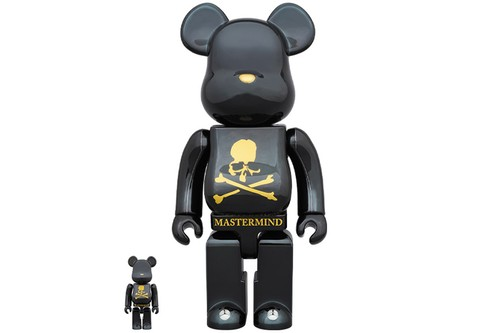 MEDICOM Toy and mastermind WORLD Come Together for 100% & 400% BE@RBRICKs
