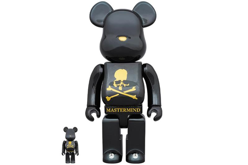 Medicom Toy Bearbricks mastermind WORLD100% 400% BE@RBRICK
