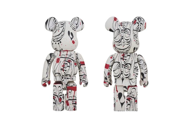 Medicom Toy BEARBRICK Phil Frost 100 400 1000 figures toys collectibles japan new york city artist Jack Shainman Gallery paintings Academy of Fine Arts 1990 doll street art american