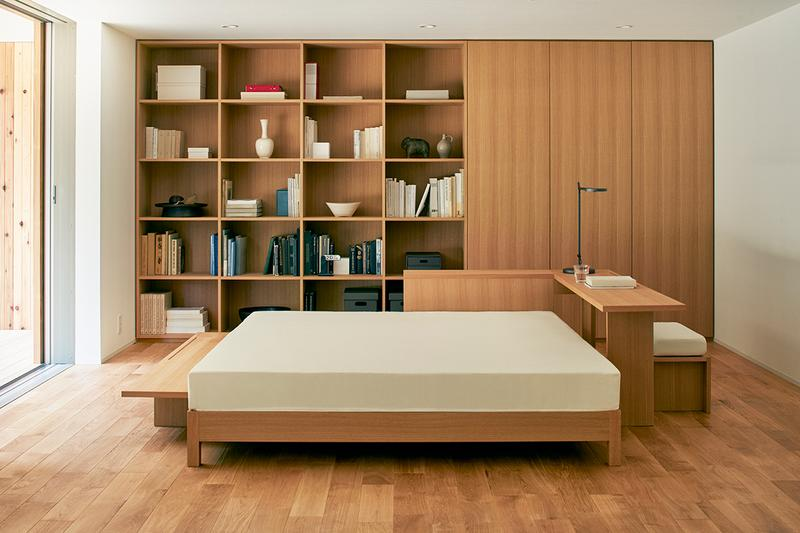 MUJI Debuts Minimal Tiny Home Yō no Ie House wood deck architecture japan japanese homegoods design prefabricated