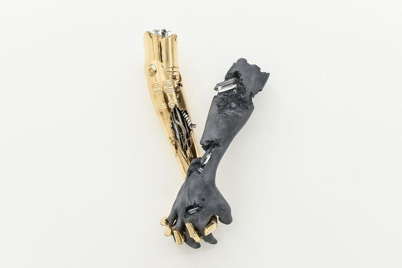 daniel arsham hajime sorayama nanzuka 2g exhibition artworks sculptures