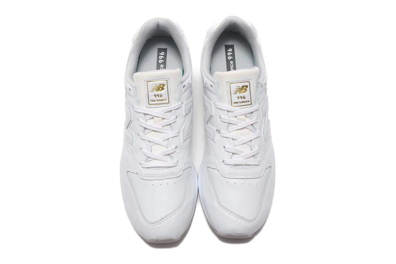 new balance 996 white gold