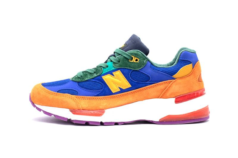 "New Balance M992 Made in USA ""Multicolor"" ""Blue/White/Rose"" Sneaker Release Information Retro Runner 1990s Ndurance ENCAP Drop Dates"