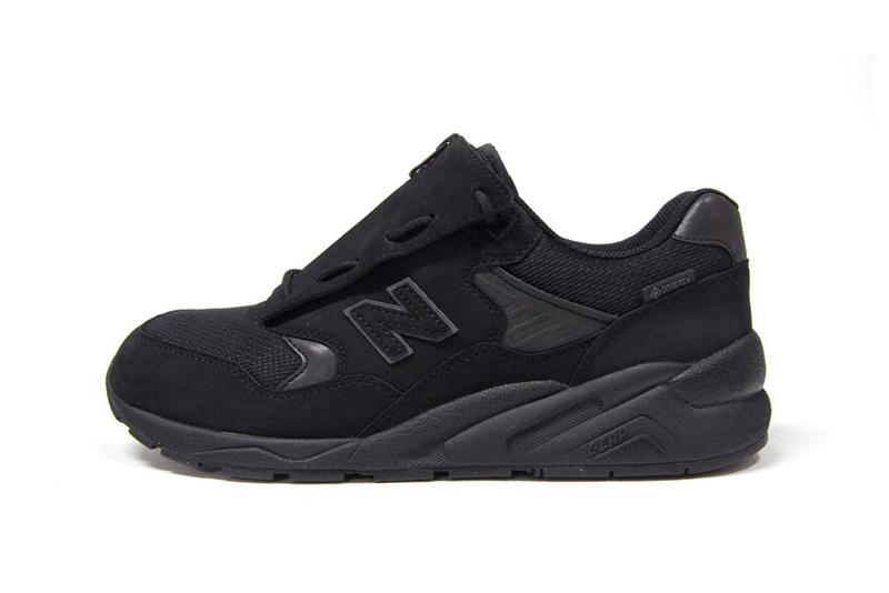 "New Balance MTX580 ""GORE-TEX"" Limited Edition Sneaker Footwear Drops Mita Sneakers Japan Release Information Water Resistant C-CAP Sole Unit Utilitarian Triple Black"