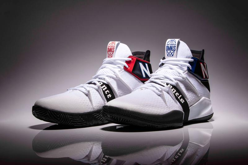 new balance omn1s city of angels la los angeles clippers kawhi leonard white black blue red release date info photos price