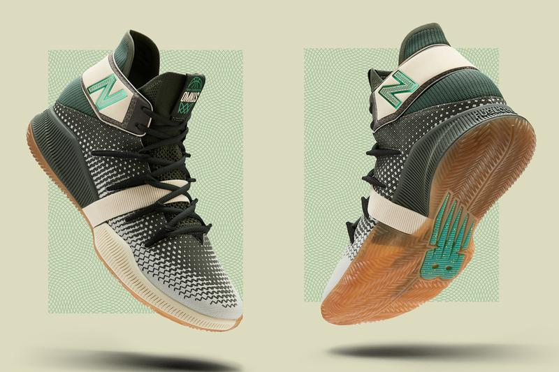 new balance omn1s money stacks green gum white tan sail kawhi leonard release date info photos price colorway cash dollar