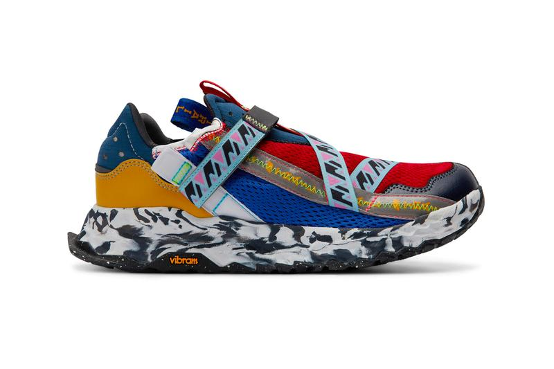 new balance multi coloured trainers