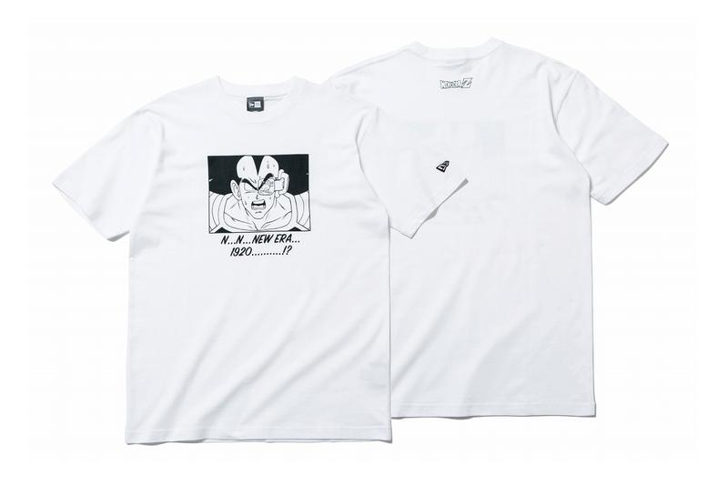 'Dragon Ball Z' x New Era Winter 2019 Collaboration collection shirts tee hats goku vegeta captain ginyu