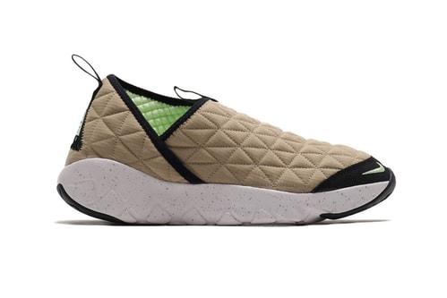 Nike ACG Moc 3.0 in Khaki & Black Are Cozy Options This Season