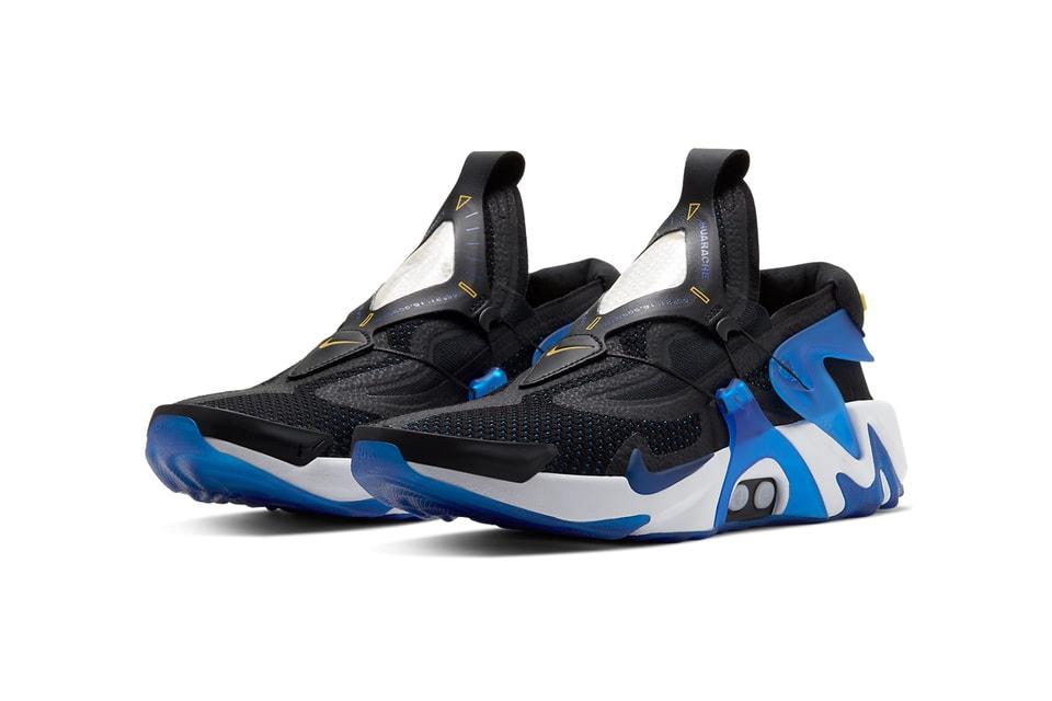 "Nike Adapt Huarache Gears up in ""Racer Blue"""