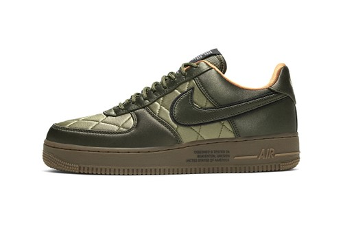 Nike Air Force 1 '07 Satin Pack Is Inspired by U.S. Army Jackets