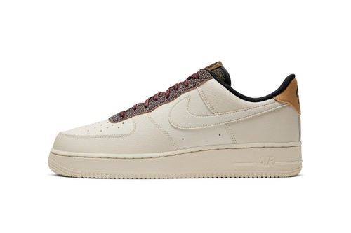 """Nike Air Force 1 Appears in Premium """"Fossil"""" Colorway"""