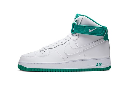 """Nike Air Force 1 High Appears In Retro """"Neptune Green"""""""