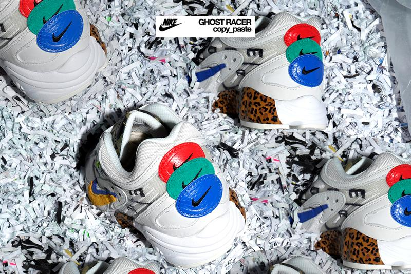 size nike air ghost racer copy paste white cheetah print red green blue release date info photos price colorway release date december 7