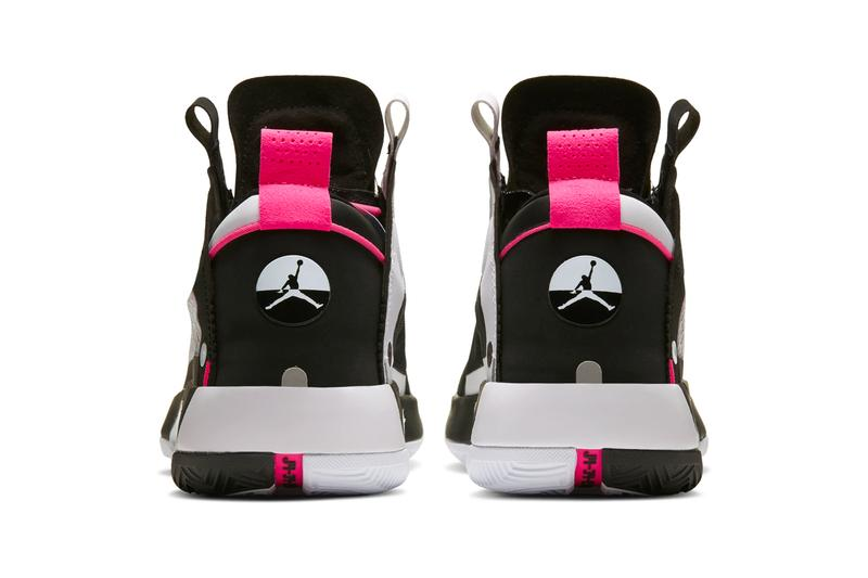Air Jordan 34 PF Chinese New Year monochromatic black white pink Eclipse Plate Pebax zoom air footwear shoes sneakers kicks runners trainers basketball fall winter 2019 AJ XXXIV