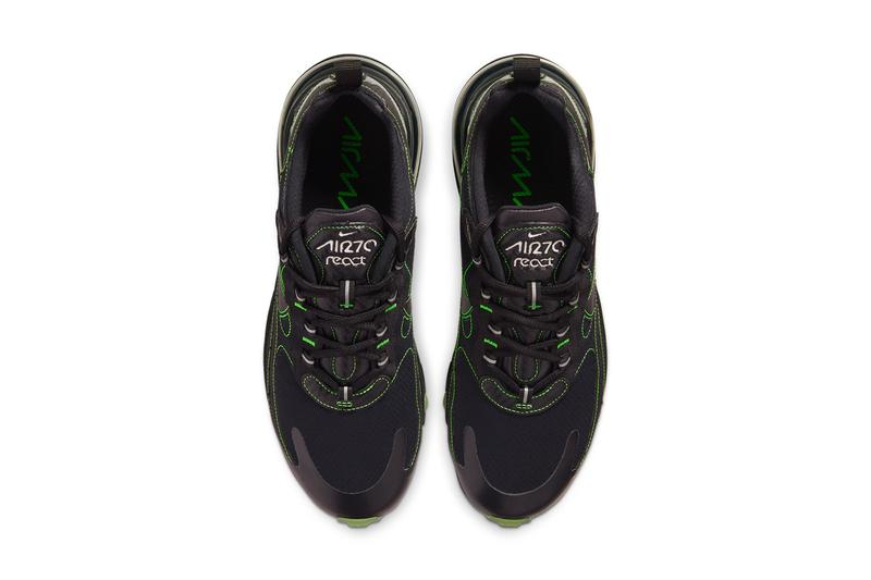 nike air max 270 react electric green flash crimson black grey white CQ6549 001 100 release date info photos price