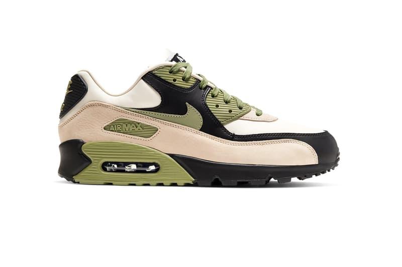 Nike Air Max 90 NRG Lahar Pack Release Information First Look Closer Reveal Drop Date Cop 1989 Hiking Shoe Retro Inspiration White/Natural Indigo Light Cream/Alligator