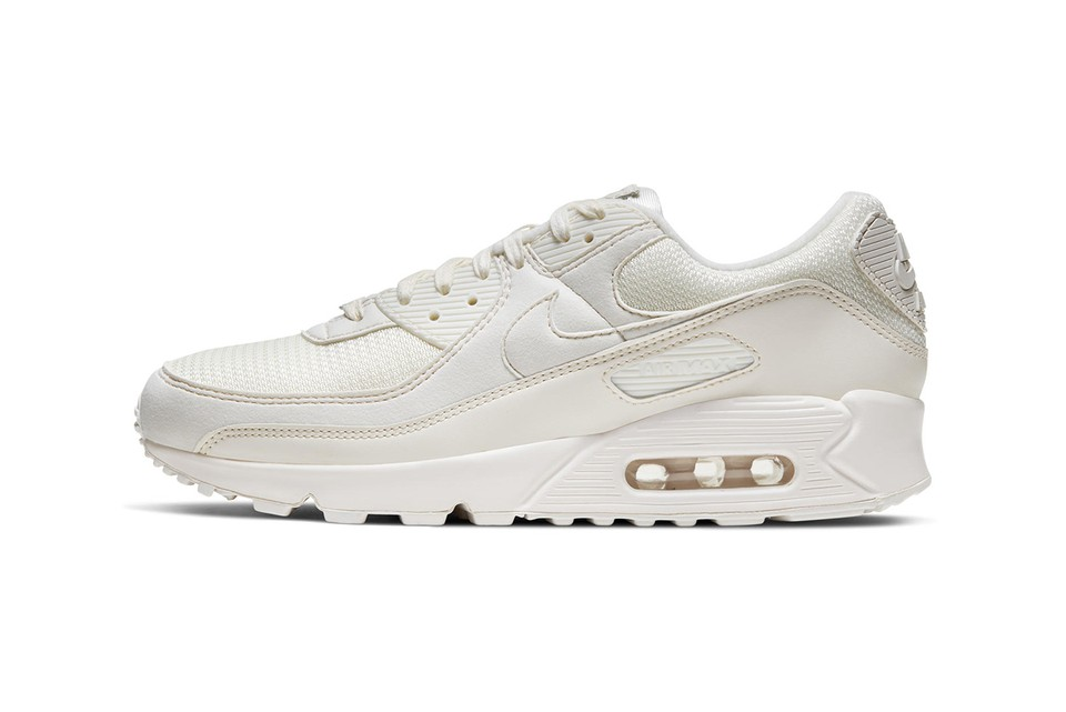 """Nike Celebrates 30 Years of the Air Max 90 With Recrafted """"Sail"""" Colorway"""