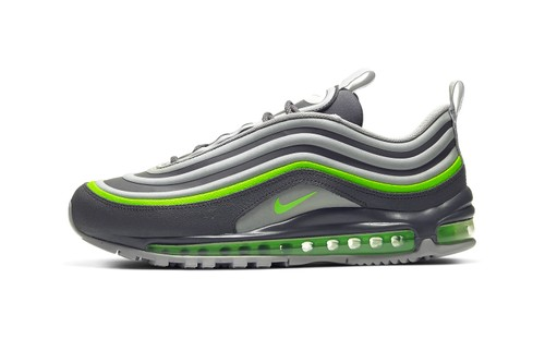 "Nike Reworks Air Max 97 Utility in ""Thunder Gray/Electric Green"""