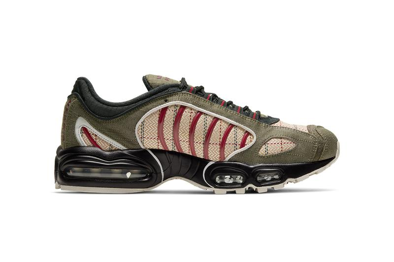 nike air max tailwind iv 4 medium olive black vast grey noble red ct1197 001 release date info photos price