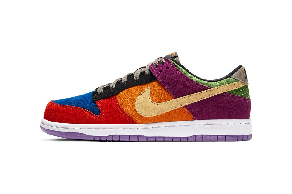 "Nike Dunk Low ""Viotech"" Gets Official Look & Release Details"
