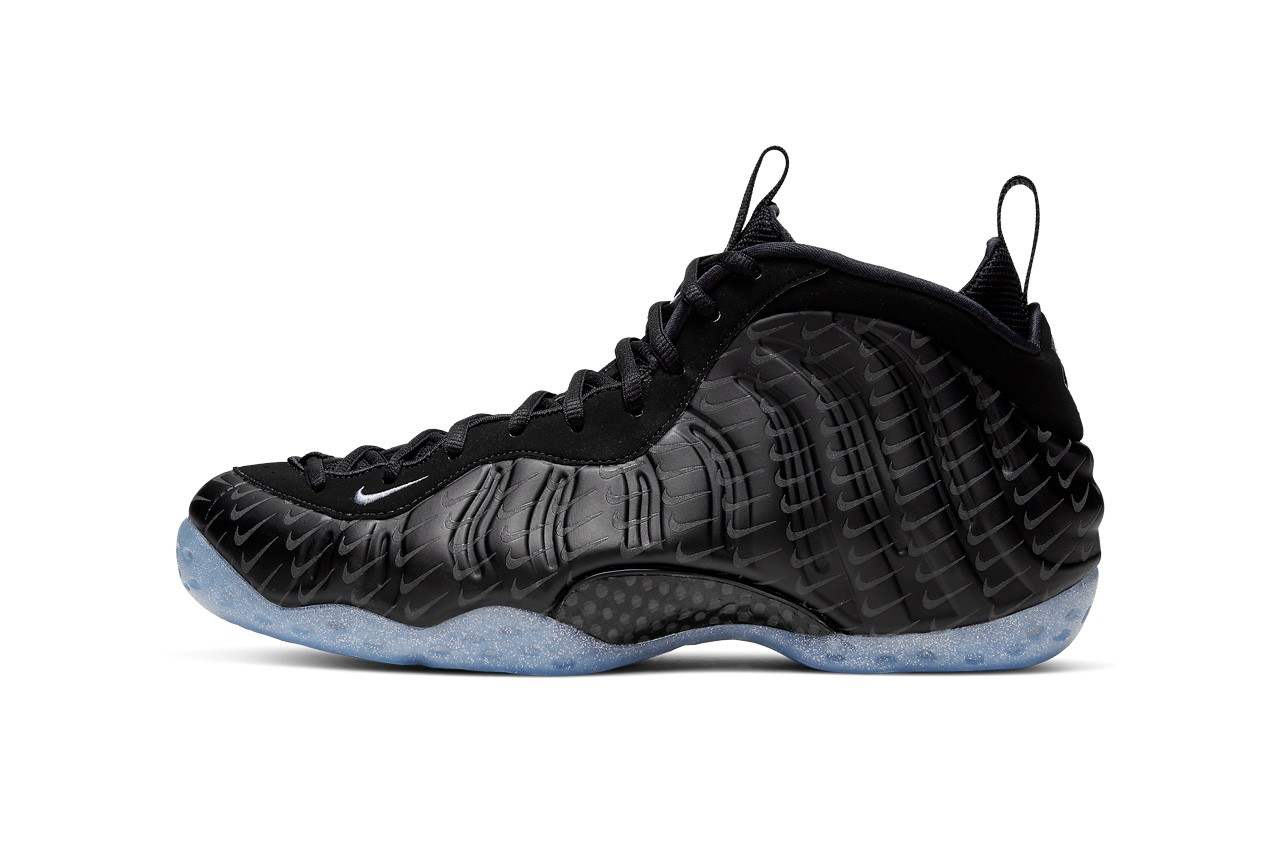 The Mini SwooshCovered Nike Air Foamposite One is ...