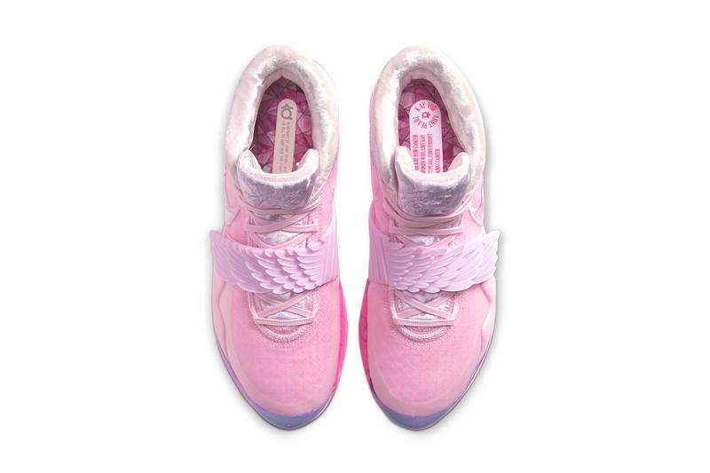 nike kd12 aunt pearl kevin durant pink breast cancer awareness ct2740 900 release date info photos price colorway 2019 december 26 price