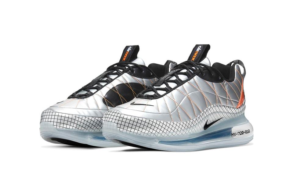 Nike's Releases Futuristic MX-720-818 in Metallic Silver and Copper