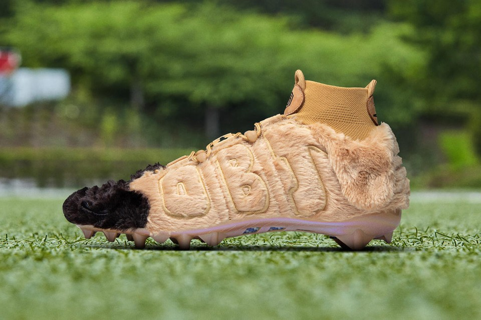 Nike Customizes Dog-Inspired Cleats for Odell Beckham Jr.