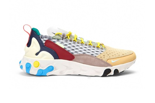 """Nike Revamps React Sertu With Multi-Colored """"Wolf Grey"""" Update"""