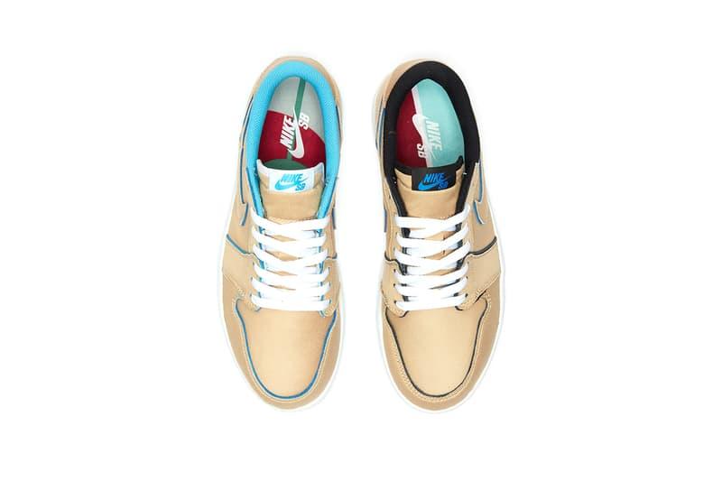 "Nike SB Air Jordan Low QS ""Desert Ore/Royal Blue"" Sneaker Release Where to buy Price 2019"