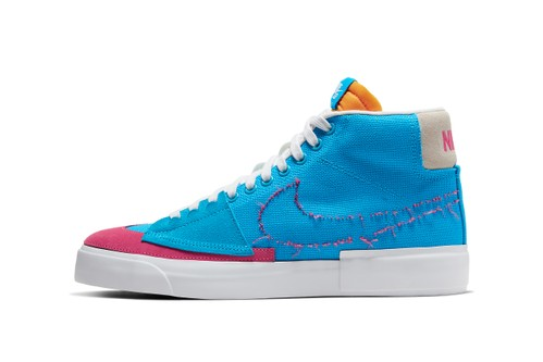 """Nike SB Blazer Mid Edge Gets Chopped Up for New """"Hack Pack"""""""