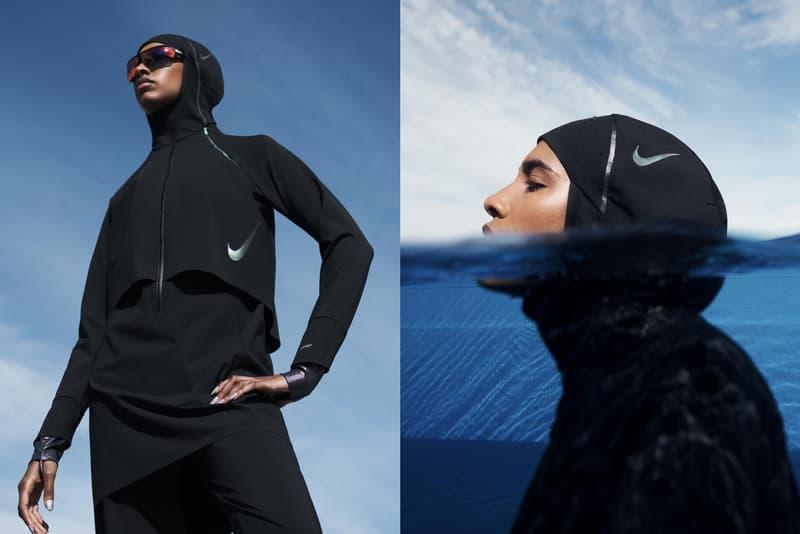 Nike Victory Swim Collection Release Info lookbooks swoosh swimwear nike pro hijab womenswear diversity