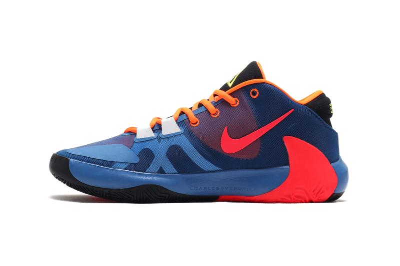 NIKE ZOOM FREAK 1 MULTI TOTAL ORANGE DYNAMIC YELLOW BLACK SPRING 2020 ct8476 800 sneakers footwear kicks shoes runners trainers basketball Giannis Antetokounmpo Release Info Date Price Buy
