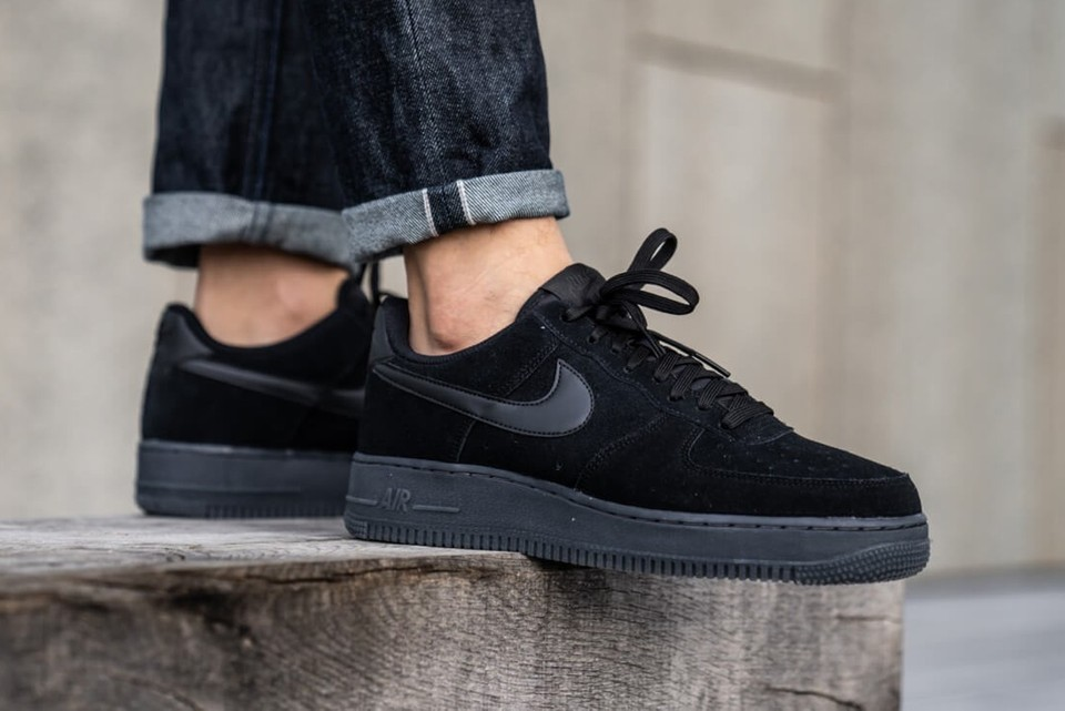 Nike Air Force 1 07 Lv8 3 Black Anthracite Hypebeast