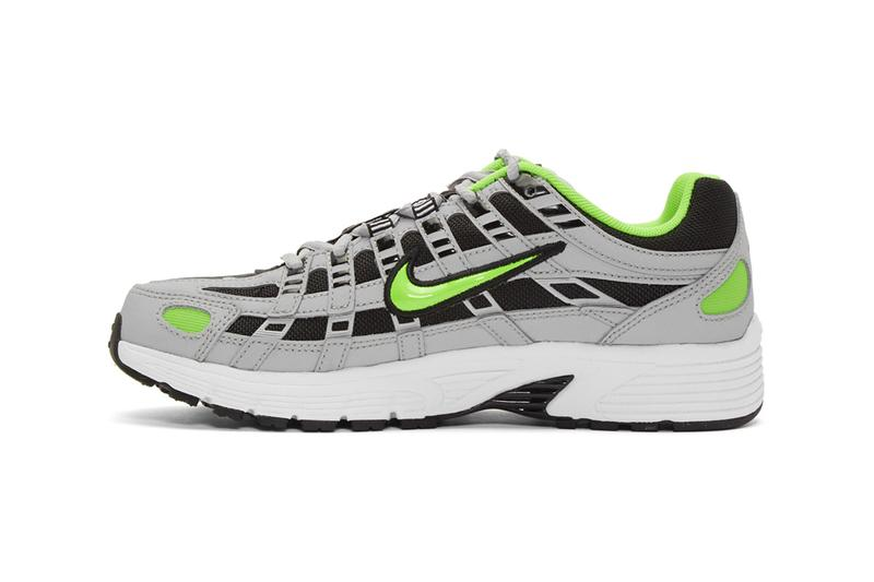 Nike P 6000 Wolf Gray Electric Green Nike Air Pegasus 00s shoes footwear sneakers trainers runners kicks swoosh just do it american colorway sportswear streetwear running