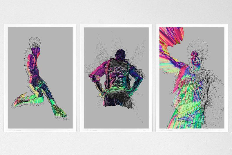 NOPATTERN STUDIO Store & Michael Jordan Digital Prints Release Information T-Shirt Capsule Collection Limited Editions Signed Pieces Artworks Chuck Anderson ACLU Donations