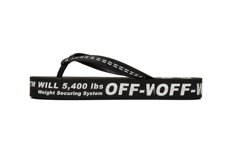 Off White Industrial Flip Flops Release Info Date Buy Price Yellow Black White Beige Virgil Abloh SSENSE