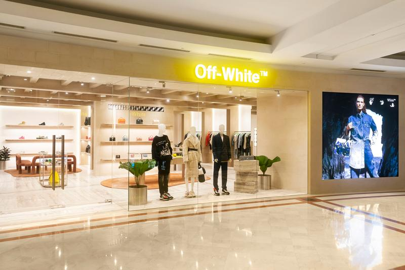 Off-White™ Kuala Lumpur Flagship Reopen, Capsule exclusive yours truly clothing sura klcc release date info december 17 2019 mall store boutique