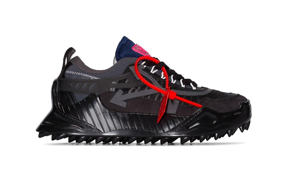 "Off-White™'s ODSY-1000 Sneaker Receives a Sleek ""Black/Black"" Makeover"