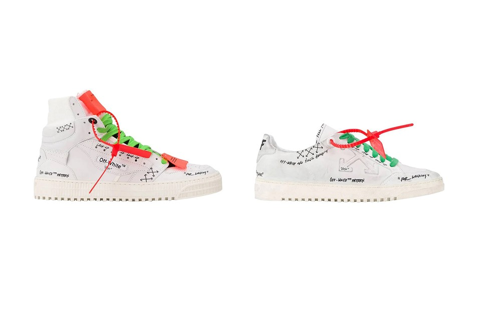 """Off-White™ Drops """"Sharpie"""" Versions of the Off-Court 3.0 & Low 2.0"""