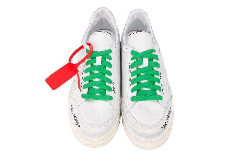 Off-White Sharpie Distressed Off-Court 3.0 Low 2.0 Release shoes sneakers footwear virgil abloh kicks footwear italian trainers