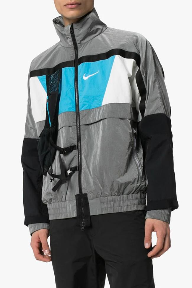 Off-White x Nike Multicolour NRG Jacket Release  jackets outerwear browns fashion sportswear virgil abloh