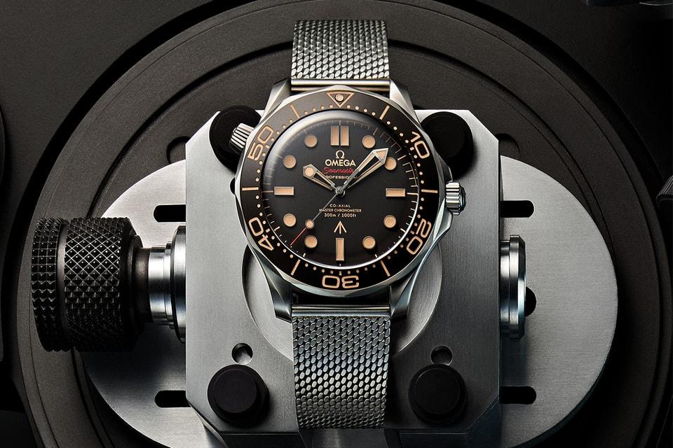 OMEGA's Seamaster Diver 300M 007 Edition Celebrates 25th James Bond Film, 'No Time To Die'