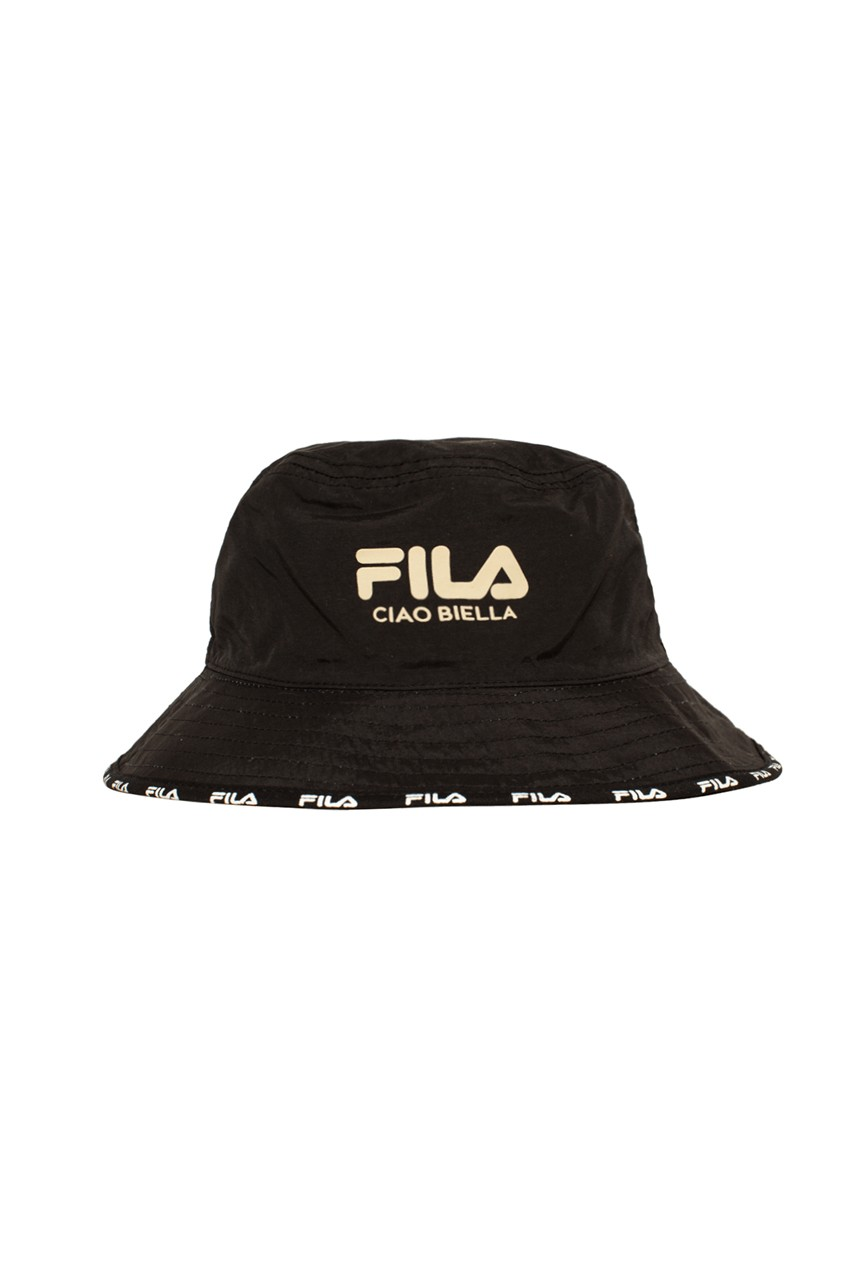 one block down fila ciao Bella biella collection capsule black vaporwave cheetah dstr97 bucket hat sweatshirt jacket animal print release date info photos price